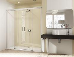 news new standard for shower enclosures from huppe kbb gateway. Black Bedroom Furniture Sets. Home Design Ideas
